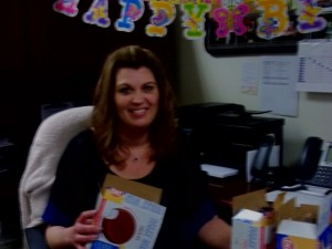 Happy Birthday Tina! Dilly Bars for All!