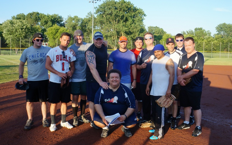 Our Winning Softball Team