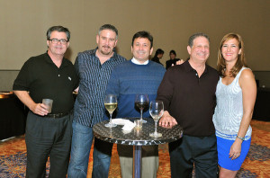Rob Braiman, Arlon Albert, Nick Chambos and guest