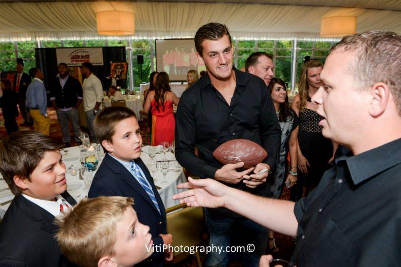 Steve Maneri and guests